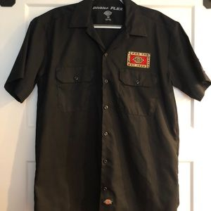 Dickies Short-Sleeve Button-Up